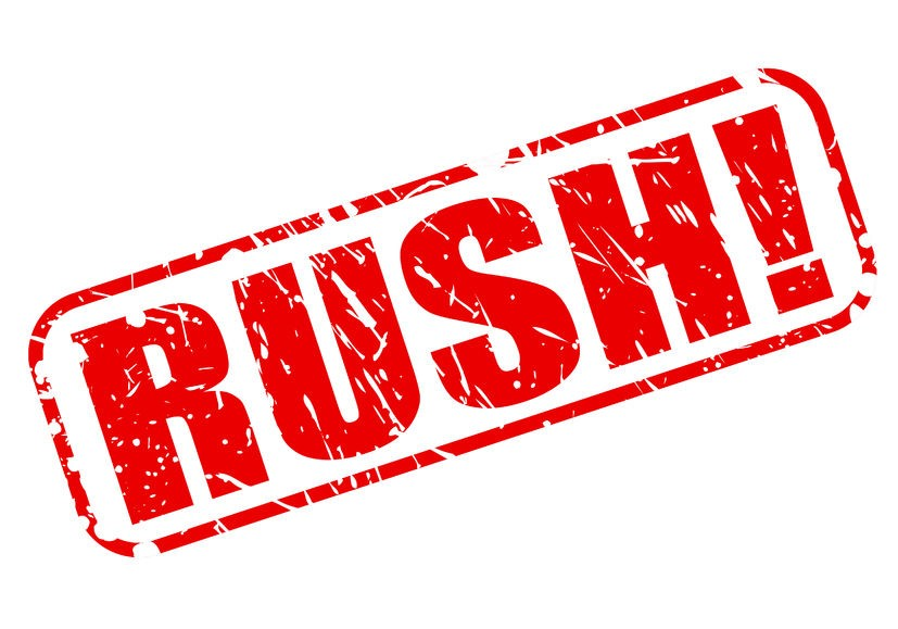 Rush Translation Projects - Rush Services