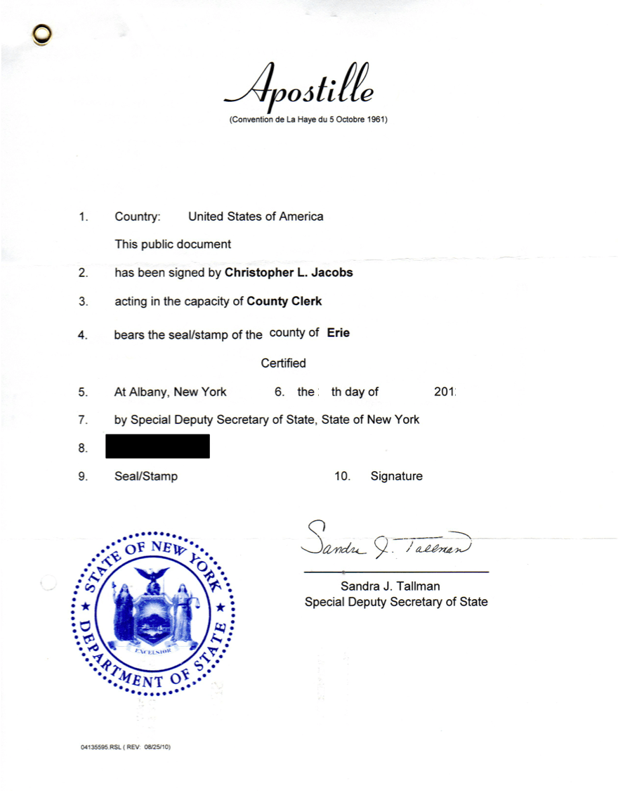 Ultimate Guide on How to Get an Apostille Done in New York
